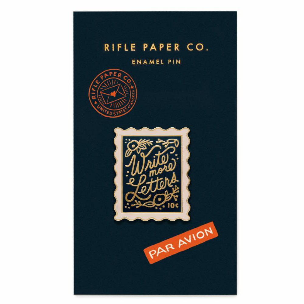 Rifle Paper Co. Stamp Enamel Pin