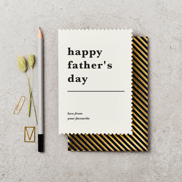 Katie Leamon Father's Day Favourite Card