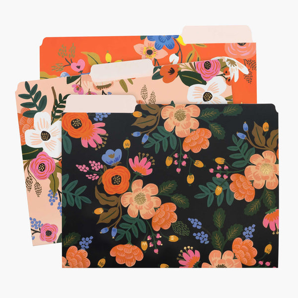Rifle Paper Co. Assorted File Folders - Lively Floral