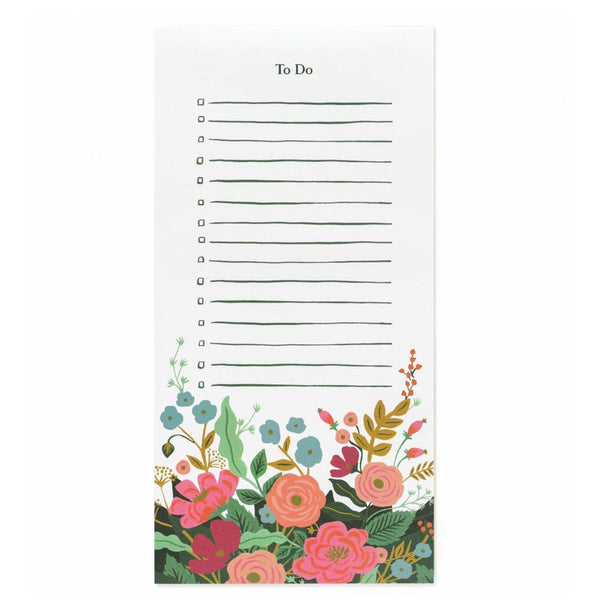 Rifle Paper Co. Floral Vines Market Pad