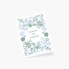 Rifle Paper Co. Indigo Sympathy Card