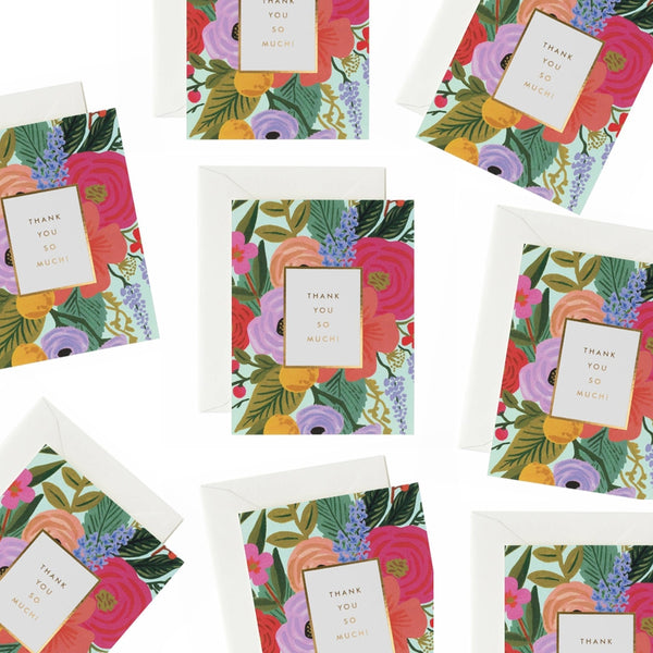 Rifle Paper Co. Garden Party Thank You Card SET