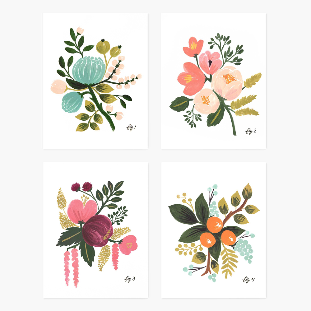 Rifle Paper Co. Botanical Assorted CARD SET