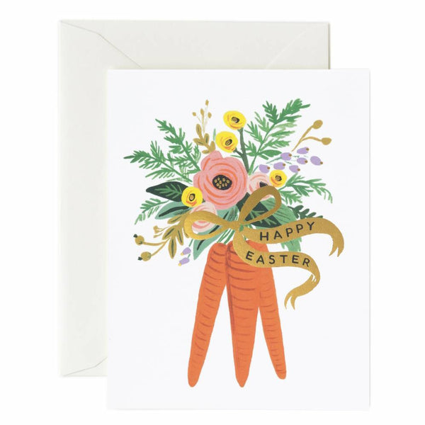 Rifle Paper Co. Carrot Bouquet Card