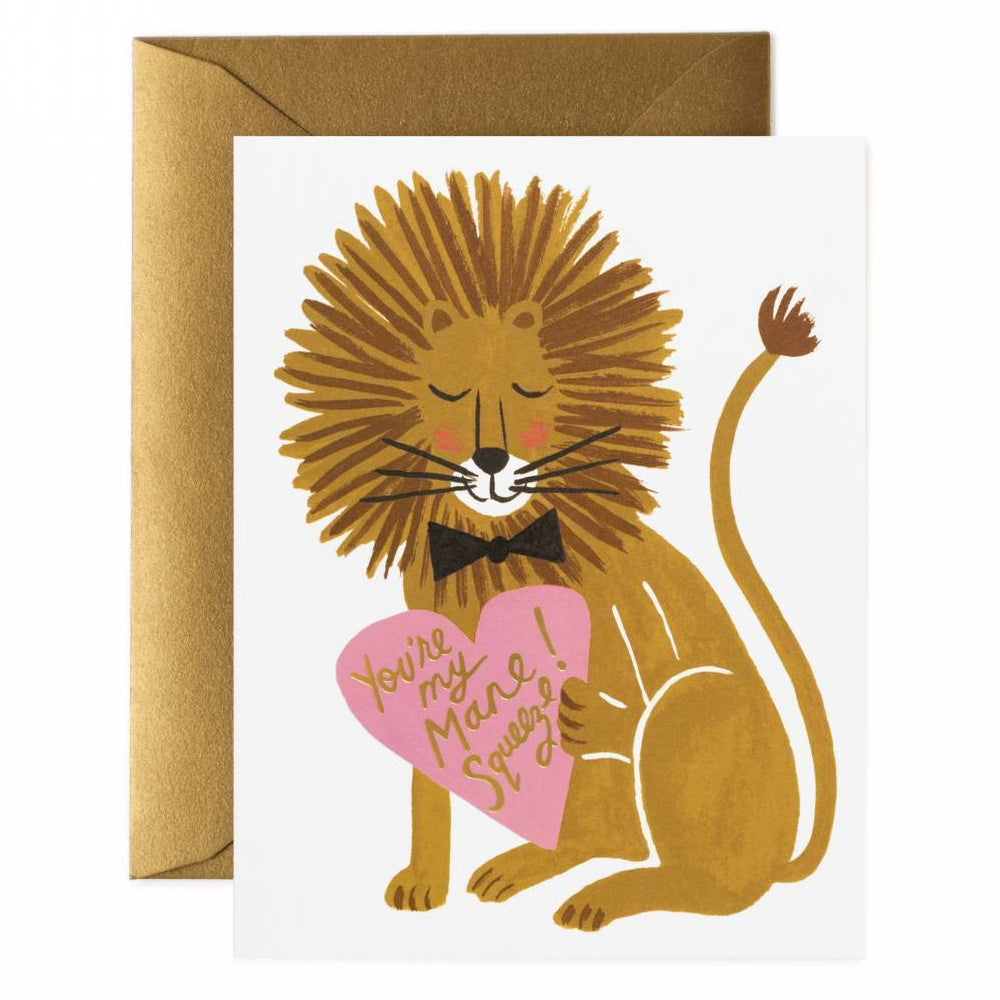 Rifle Paper Co.You're My Mane Squeeze Card