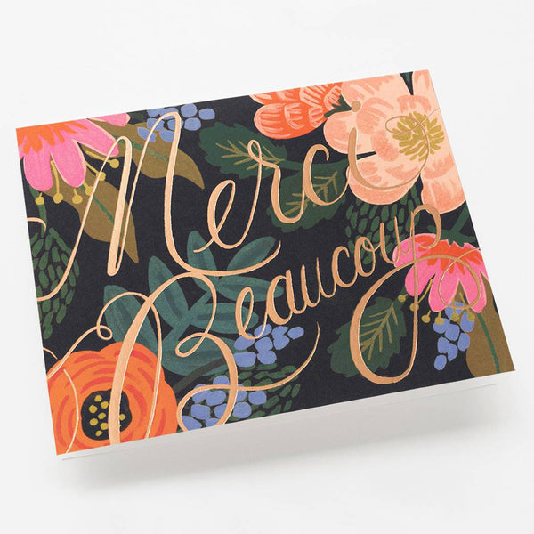 Rifle Paper Co. Bordeaux Thanks Card