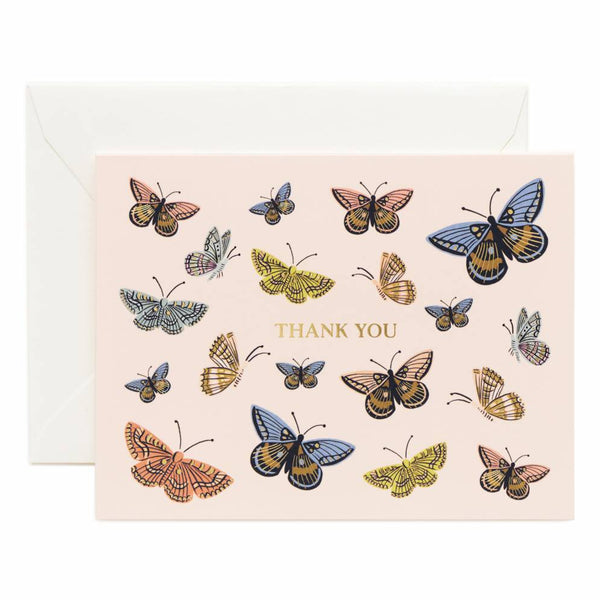 Rifle Paper Co. Monarch Thank You Card