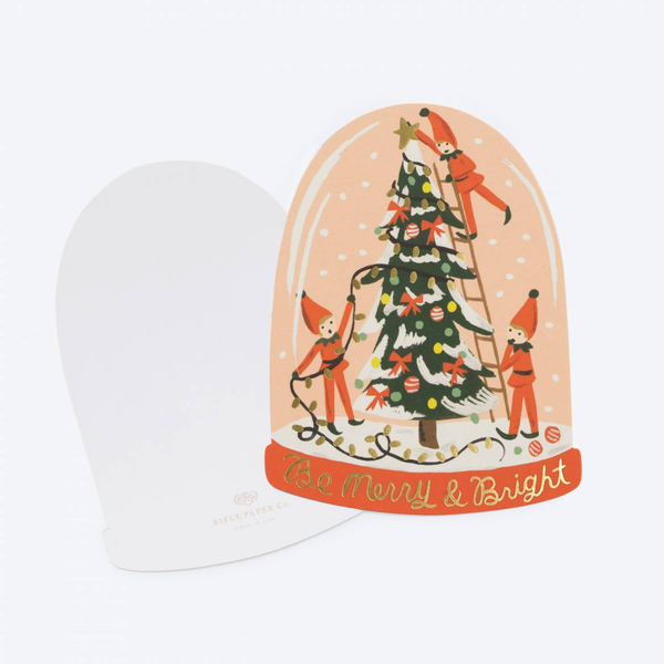 Rifle Paper Co. Merry Elves Christmas Card SET