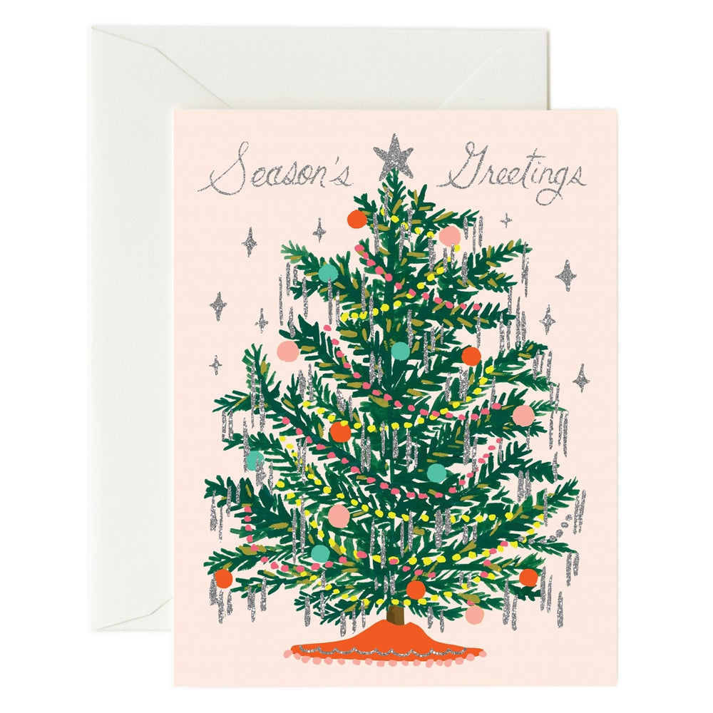 Rifle Paper Co. Tinsel Tree Christmas Card
