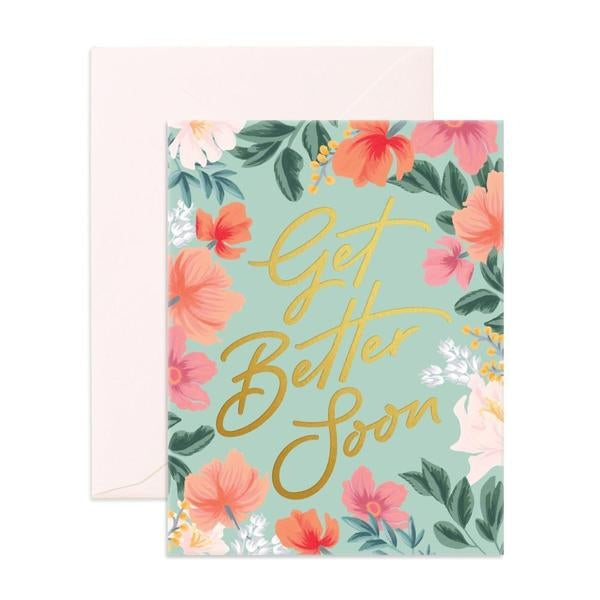 Fox & Fallow Get Better Soon Greeting Card