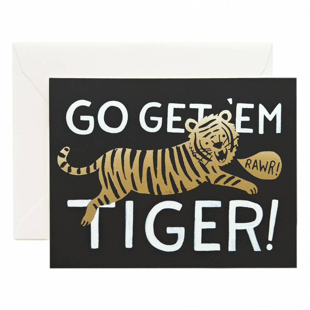 Rifle Paper Co. Go Get 'Em Tiger Card