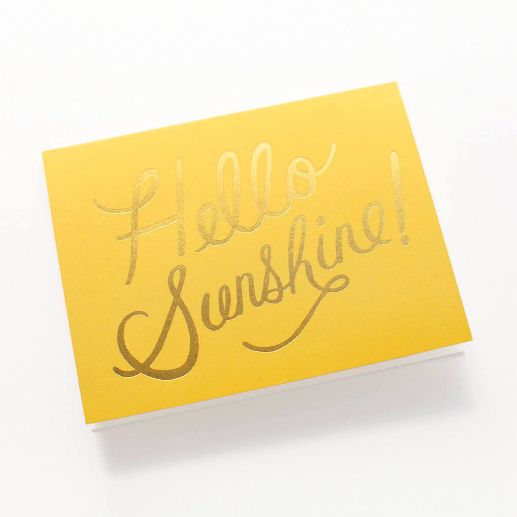 Rifle Paper Co. Hello Sunshine Card