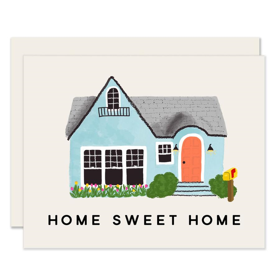 Slightly Stationery Home Sweet Home Card