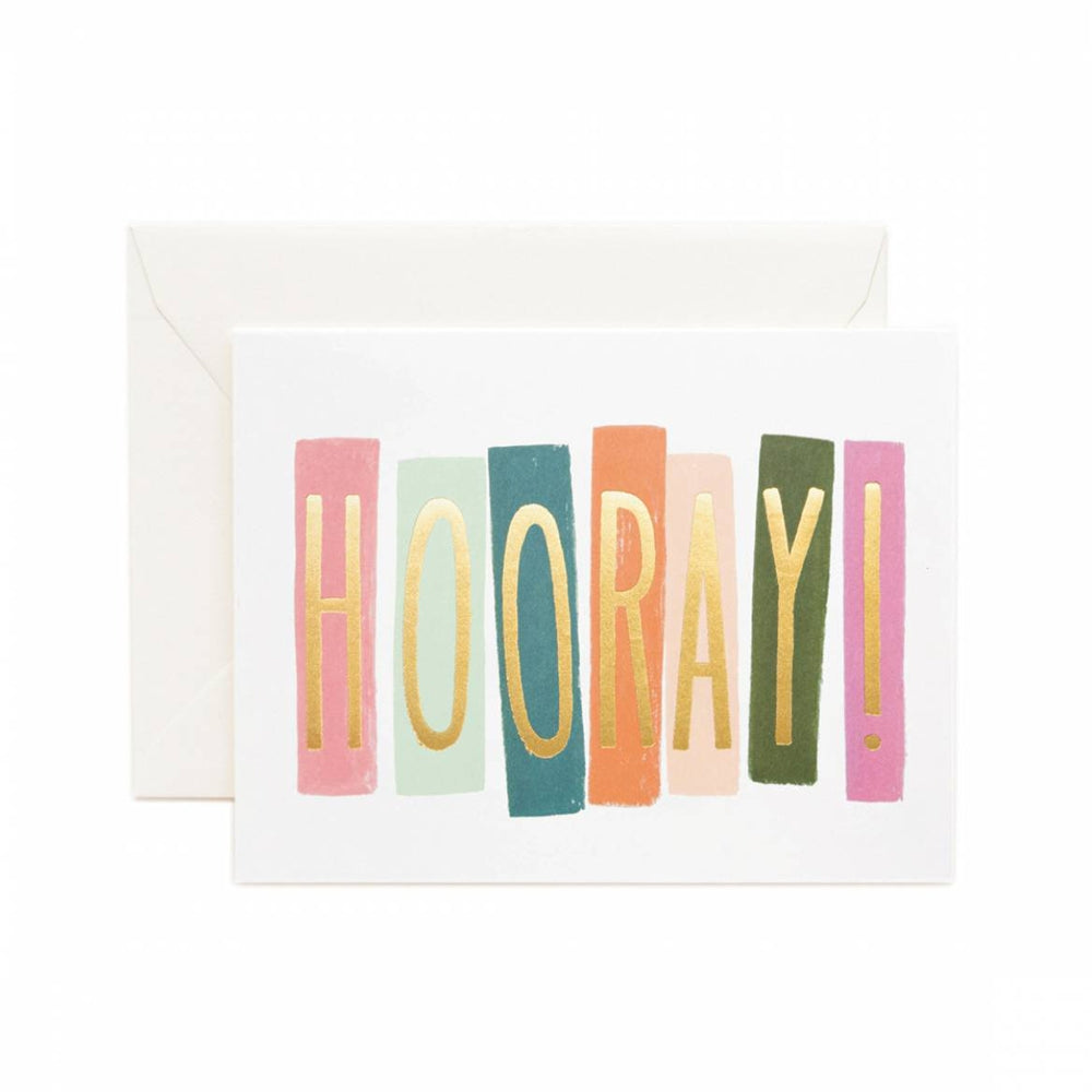 Rifle Paper Co. Hooray Gretting Card