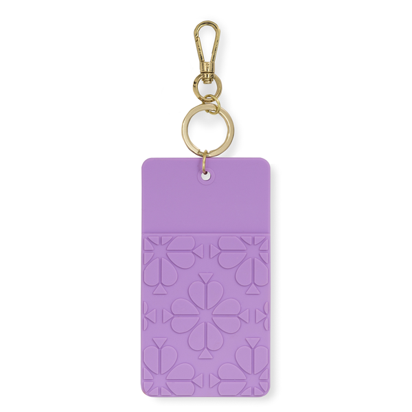 Kate Spade New York ID Clip - Spade Flower (Lilac)