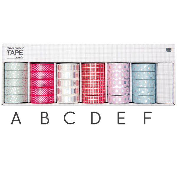 Paper Poetry Hot Foil Tape - IRIDESCENT