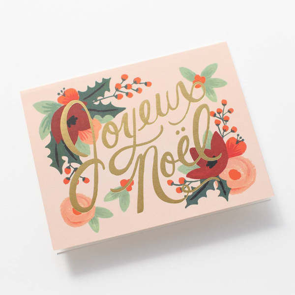 Rifle Paper Co. Joyeux Noel Christmas CARD SET