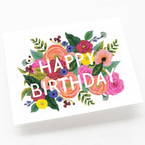 Rifle Paper Co.Juliet Rose Birthday Card