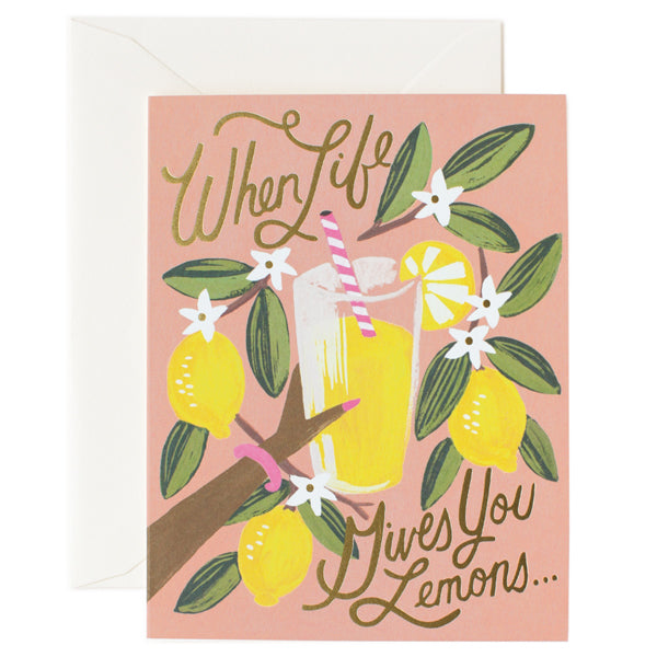 Rifle Paper Co. When Life Gives You Lemons Card