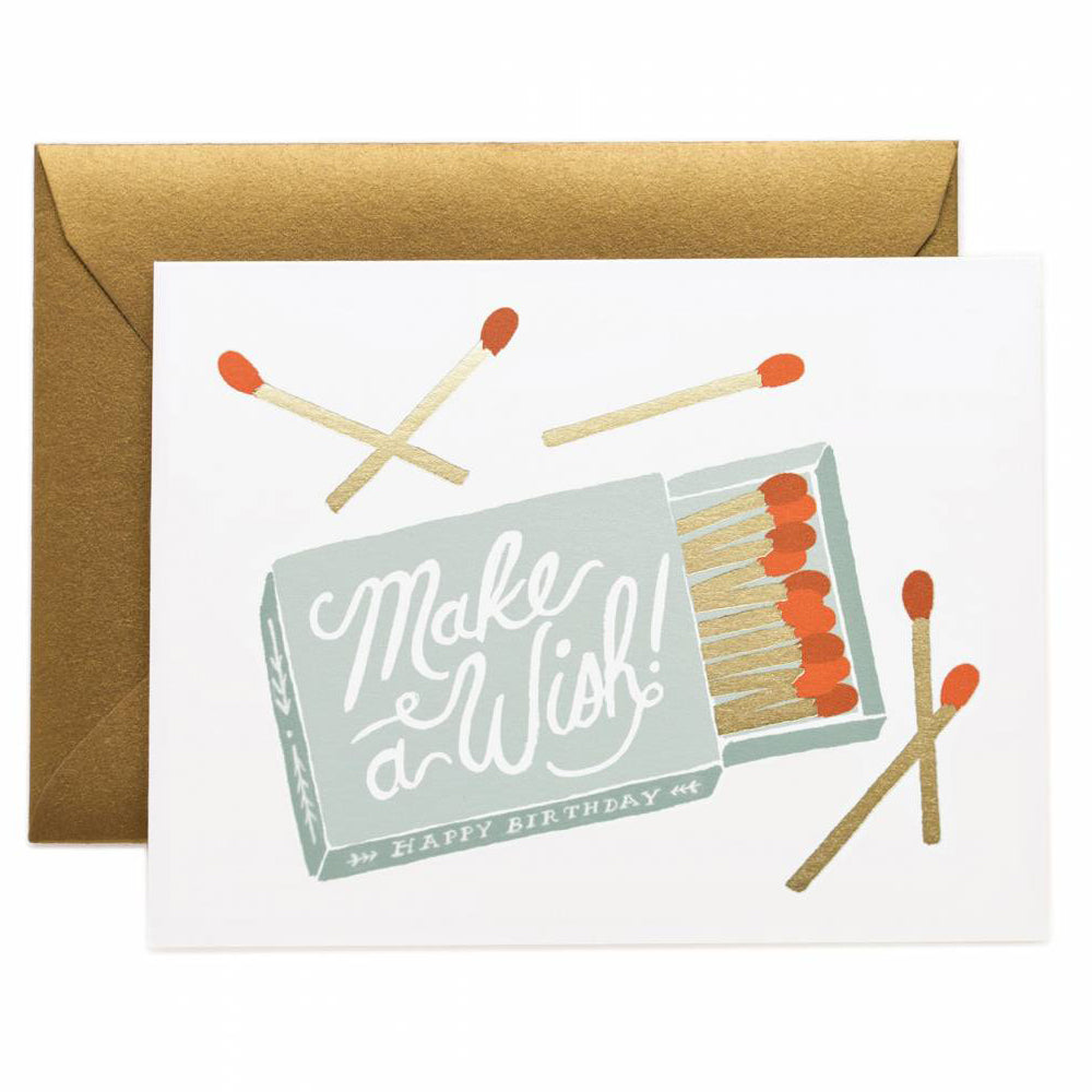 Rifle Paper Co. Make a Wish Birthday Card