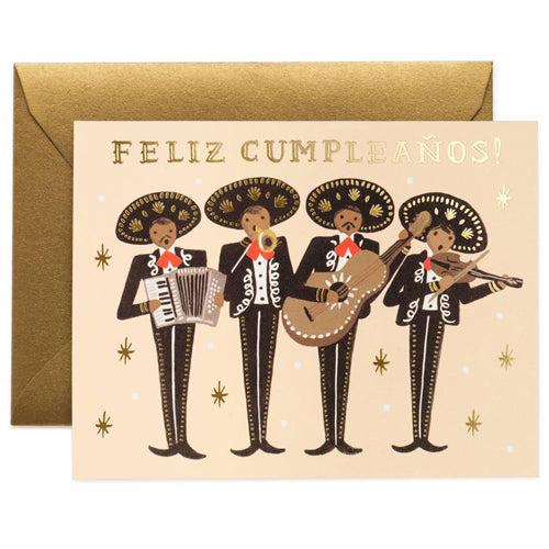 Rifle Paper Co. Mariachi Birthday Card