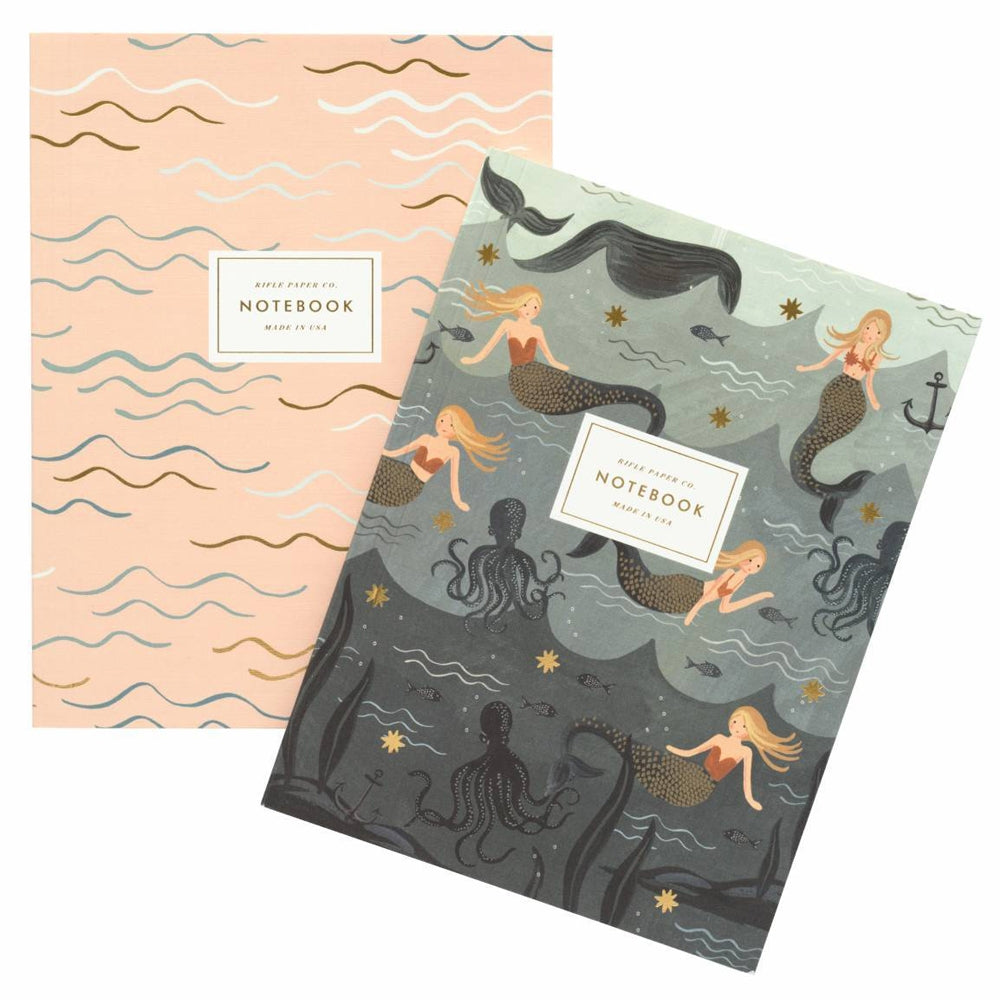 Rifle Paper Co. Mermaid Notebook Set