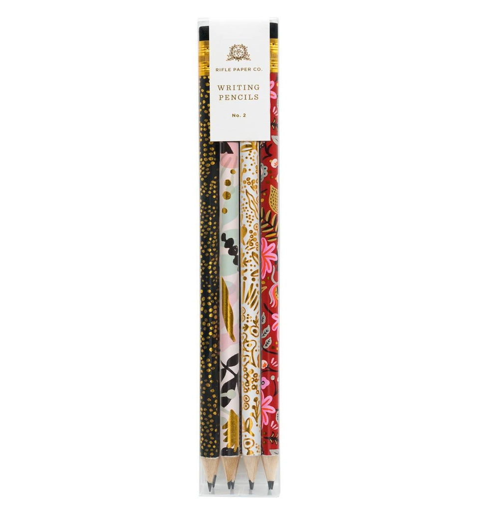 Rifle Paper Co. Assorted Writing Pencil Set (Box of 12) - Modernist