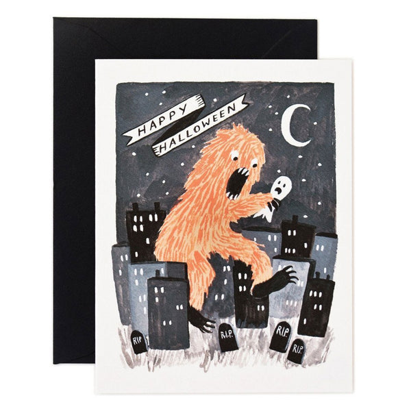 Rifle Paper Co. Halloween Monster Card