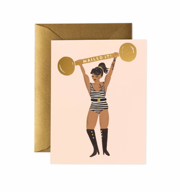 Rifle Paper Co. Nailed It Greeting Card