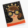 Rifle Paper Co. New Year Girl Card
