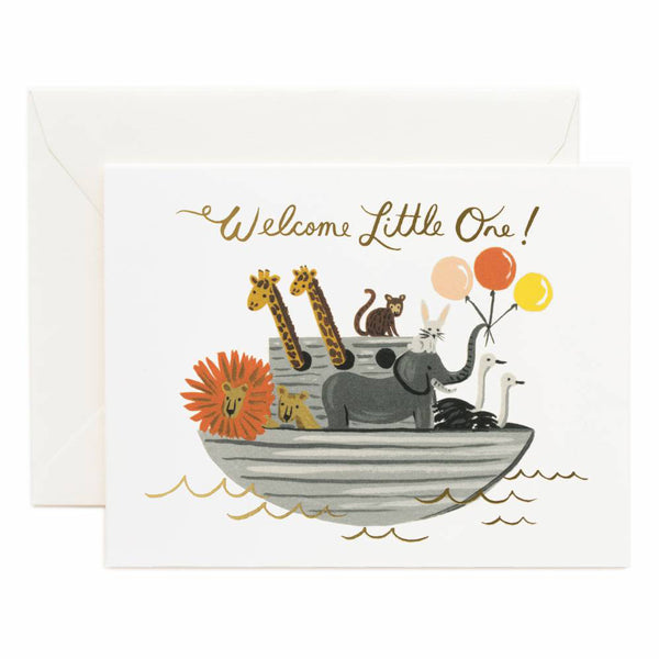 Rifle Paper Co. Noah's Ark Card