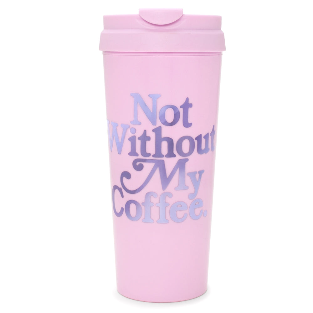 Ban.do Hot Stuff Thermal Mug - Not Without My Coffee (Lilac)