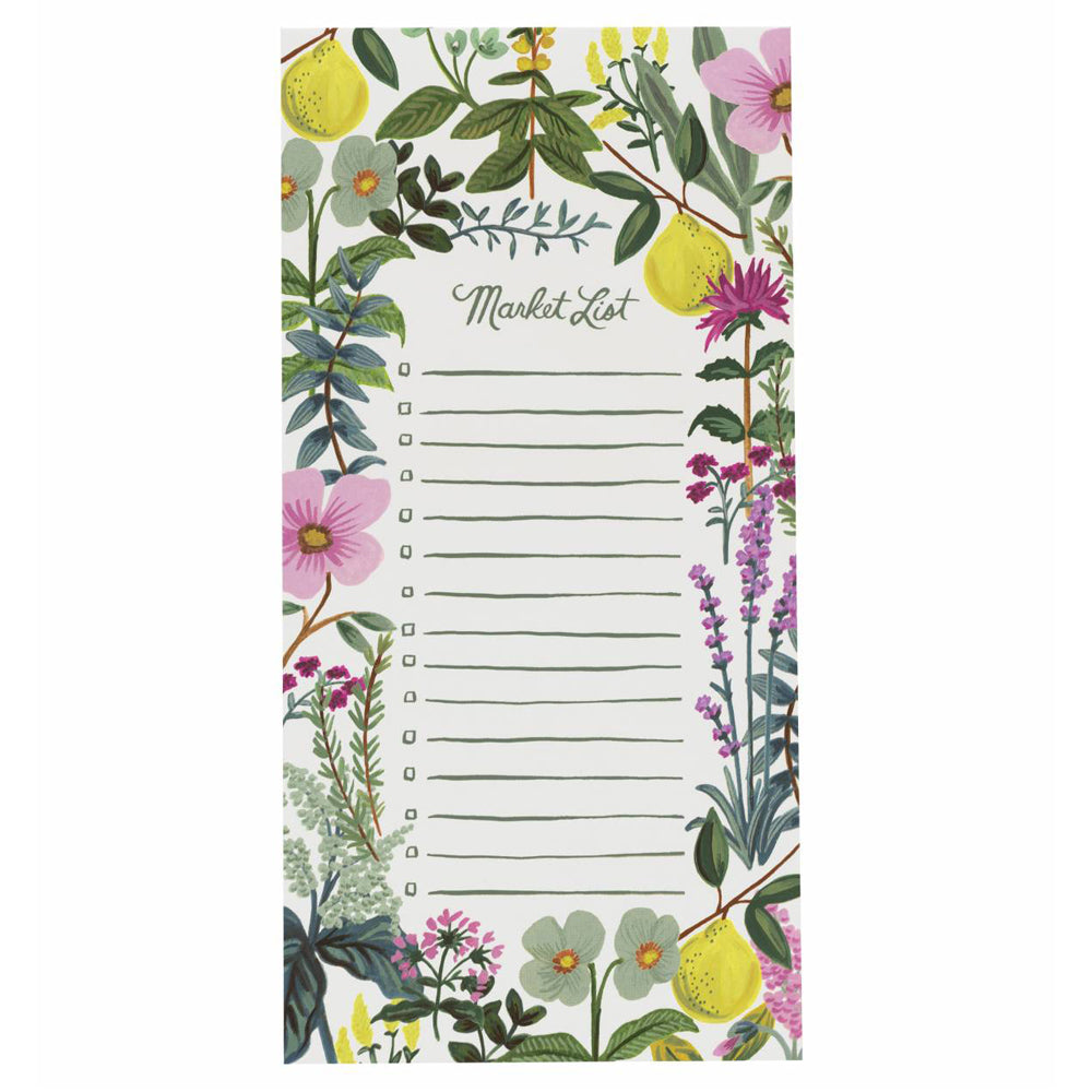 Rifle Paper Co. Herb Garden Market Pad