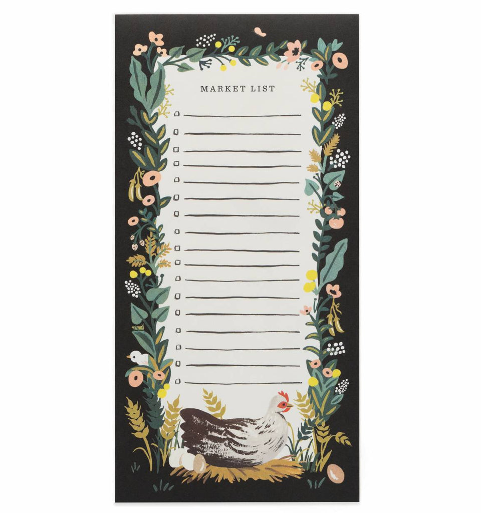 Rifle Paper Co. Country Farm Market Pad