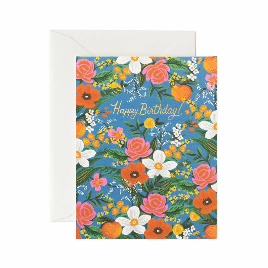 Rifle Paper Co. Orangerie Birthday Card