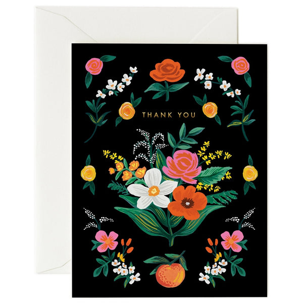 Rifle Paper Co. Orangerie Thank You Card
