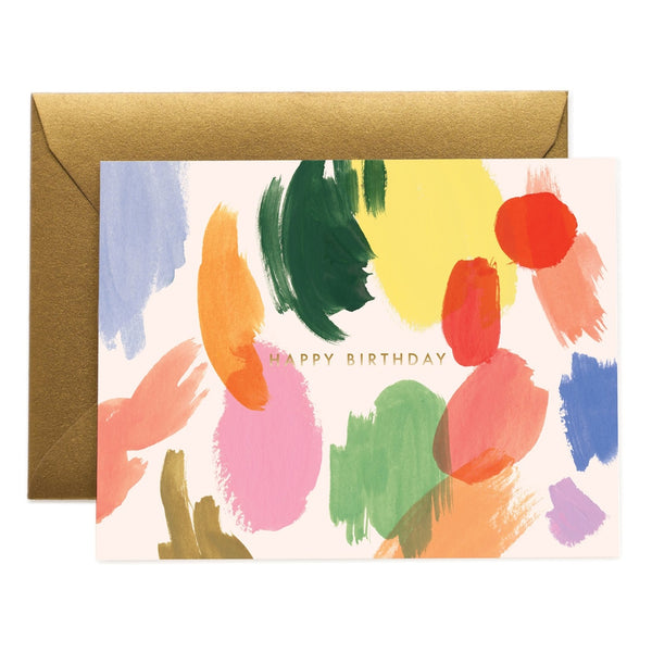 Rifle Paper Co. Palette Birthday Card