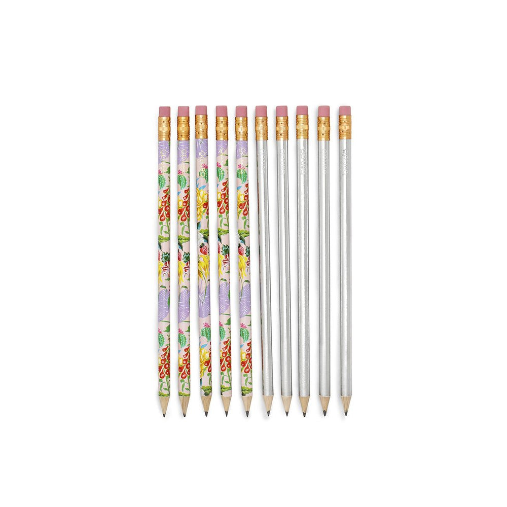 Ban.do Write On Pencil Set - Garden Party