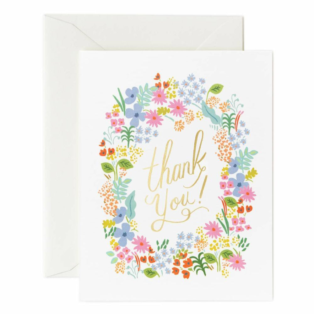 Rifle Paper Co. Prairie Thank You Card