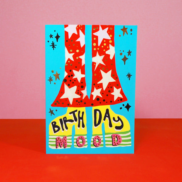 Eleanor Bowmer Birthday Mood Birthday Card (Retro 11)