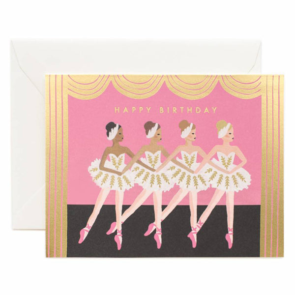 Rifle Paper Co. Birthday Ballet Card