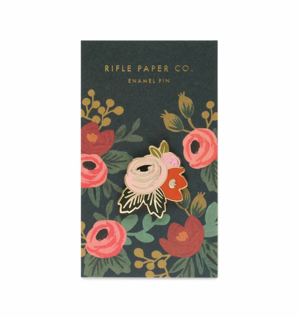 Rifle Paper Co. Rose Enamel Pin