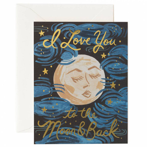 Rifle Paper Co. To The Moon and Back Card