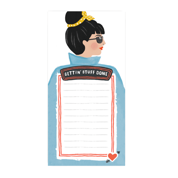Jade Fisher Kris Notepad - Gettin' Stuff Done