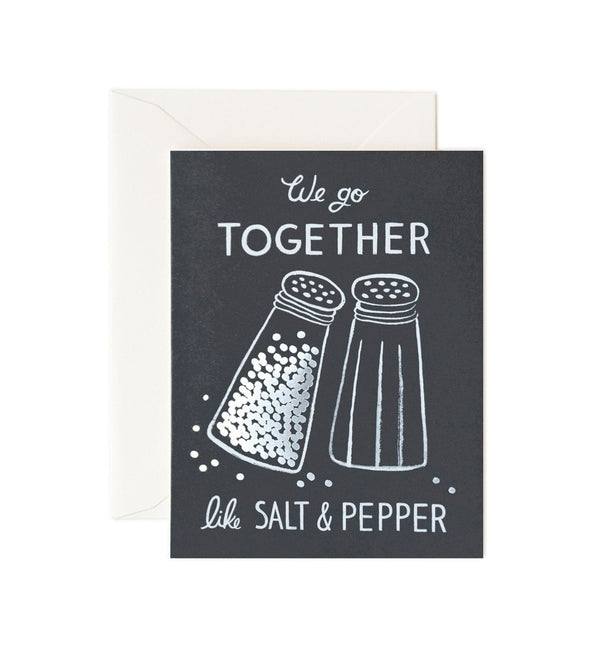 Rifle Paper Co. Salt & Pepper Card