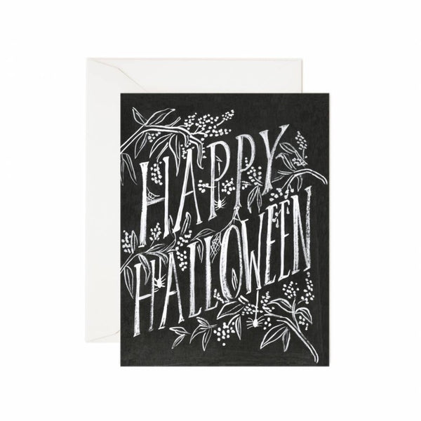 Rifle Paper Co. Scratchy Halloween Card