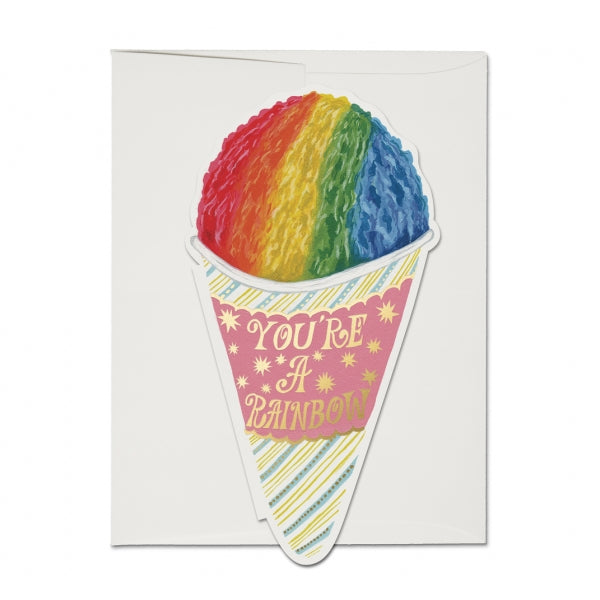 Red Cap Cards Snow Cone Card