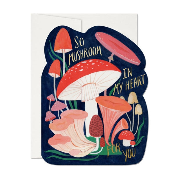 Red Cap So Mushroom Card