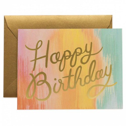 Rifle Paper Co. Sorbet Birthday Card