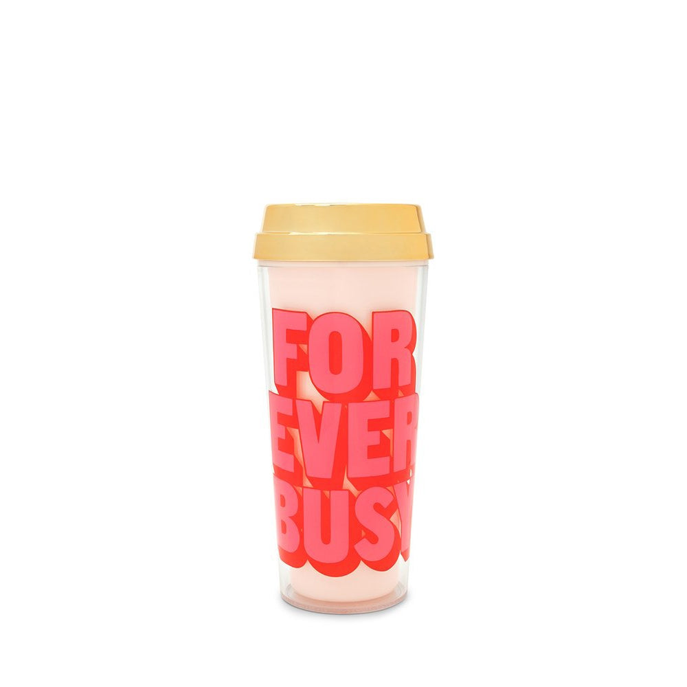 Ban.do Deluxe Hot Stuff Thermal Mug - Forever Busy